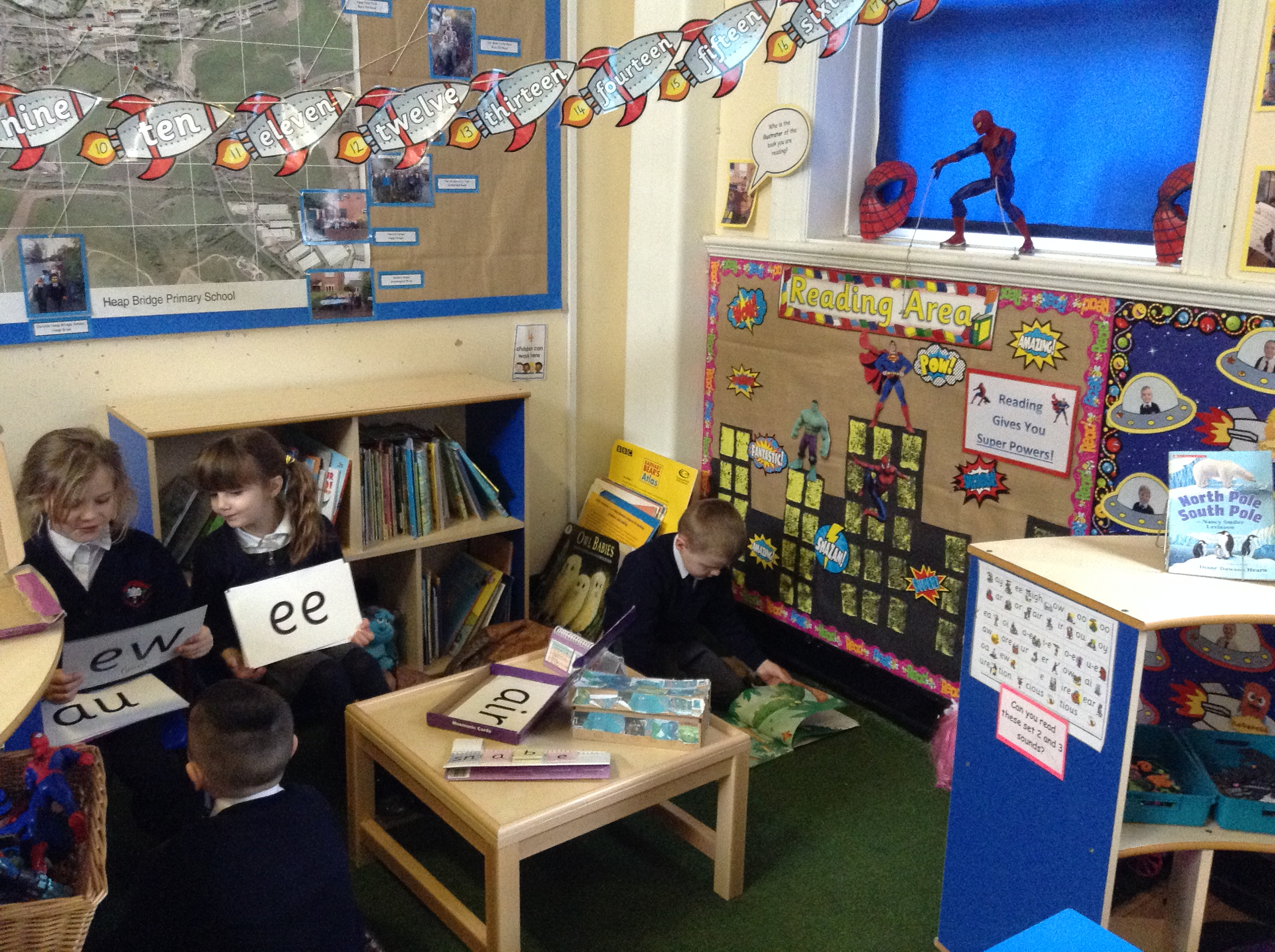 Reception Classroom Design ~ Year one continuous provision heap bridge pages